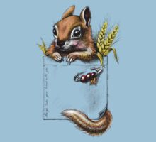 Pocket chipmunk Baby Tee