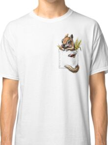 Pocket chipmunk Classic T-Shirt