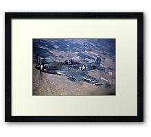 P 51 Mustang Framed Print