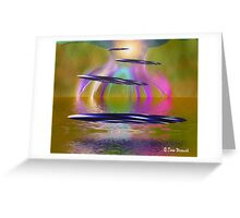 Alien Paradise Greeting Card