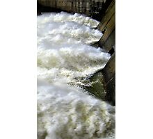 Water Through The Dam  Photographic Print