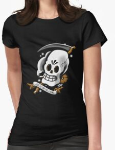 Travel Agent of the Dead Womens Fitted T-Shirt
