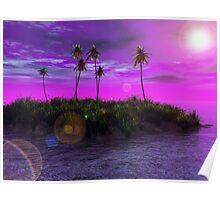 Purple Isle Poster