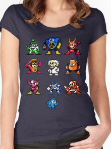Mega Man 2 Women's Fitted Scoop T-Shirt