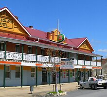 Main Street, Gunning, NSW, Australia by Peter Clements
