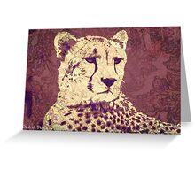 Cheetah Gaze Greeting Card
