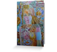 Kate Miller-Heidke Greeting Card