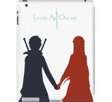 Sword Art Online - Fan Art - Asuna and Kirito iPad Case/Skin