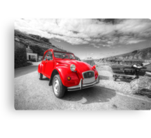 Cornish 2CV  Canvas Print