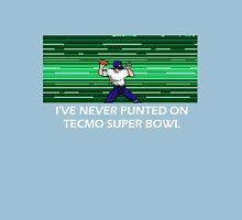 NES Nintendo Tecmo Super Bowl I've Never Punted Unisex T-Shirt
