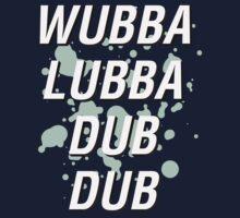 Wubba Lubba Dub Dub Kids Clothes