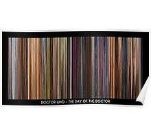 MovieDNA: Doctor Who - The Day of The Doctor - 50th Anniversary Special Poster