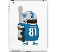 Calvin Megatron Johnson iPad Case/Skin