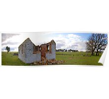 Panoramic of St Mary's Church, Outside Goulburn, NSW, Australia Poster