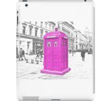 Pink Tardis  iPad Case/Skin