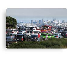 View towards San Francisco Canvas Print