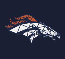 Denver Broncos - Geometric by thestratospear