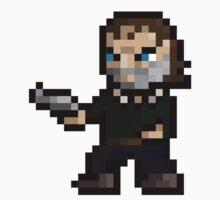 Walking Dead Rick Grimes Pixel Art by NSTY