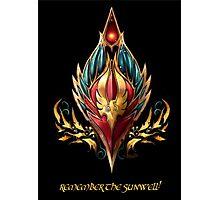Blood elf emblem  Photographic Print