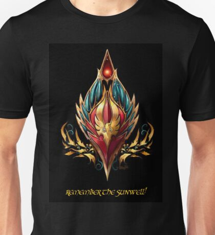Blood elf emblem  Unisex T-Shirt