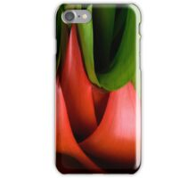 red & green iPhone Case/Skin