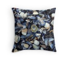 cockles and muscles alive alive oh ... Throw Pillow