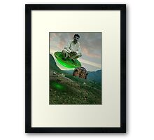 The Multan ملتان Test Flight Framed Print
