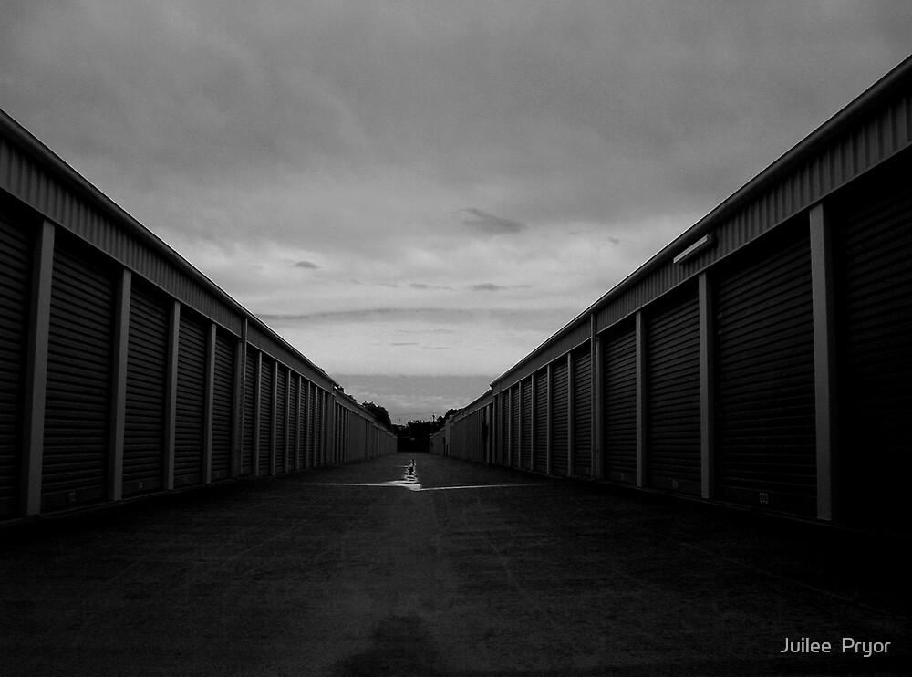 Urban Landscape # 6 Storage Sheds Adelaide by Juilee  Pryor