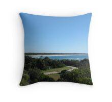 Iluka Bluff Landscape Throw Pillow