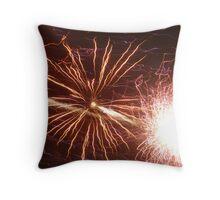 firelights 2 Throw Pillow