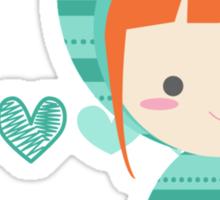 mint doll ♥ Sticker