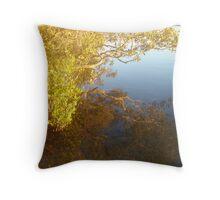 Mangrove Reflections Throw Pillow