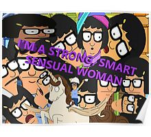 I'M A SMART, STRONG SENSUAL WOMAN Poster