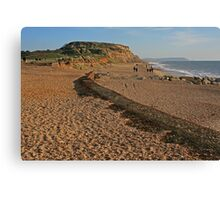 Hengistbury Head, Christmas Day 2014 Canvas Print