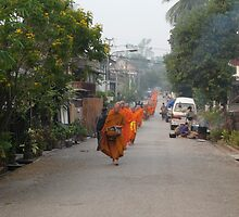 Orange in the street by Cristel Gous-Veefkind