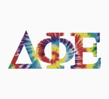 DPhiE Greek Tye-Dye Letters by Natalie Benamor