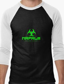 Napalm Energy Drink - Green Men's Baseball ¾ T-Shirt
