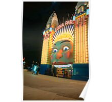 Just For Fun - Luna Park - Moods Of A City - The HDR Series Sydney Australia Poster