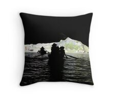 Tam Coc Throw Pillow