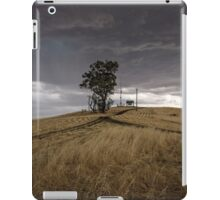 A Stormy Sky Above Huon Hill  iPad Case/Skin