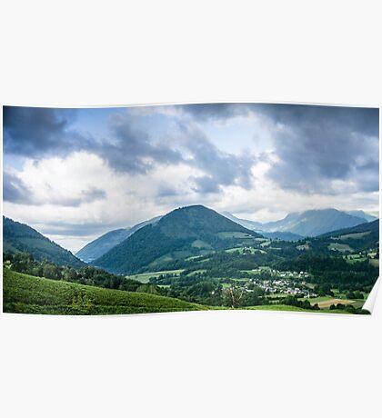 Pyrenees Landscape Poster
