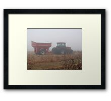 The Mechanics of the Harvest #2 Framed Print