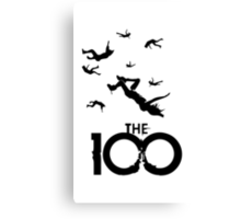 The 100 Canvas Print