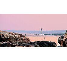 Ram Island Ledge Light Photographic Print