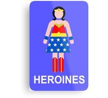 Wonder Woman/Heroines Metal Print