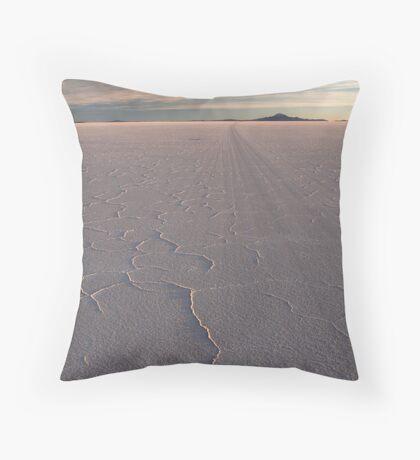 Uyuni Salar, Bolivia Throw Pillow