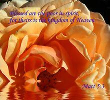 Blessed....   Matt 5:3 by SharonD