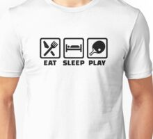 Eat Sleep Play Ping Pong Unisex T-Shirt