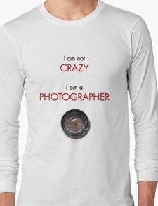 CRAZY PHOTOGRAPHER Long Sleeve T-Shirt