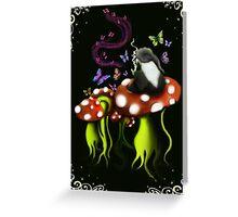 mushies two Greeting Card